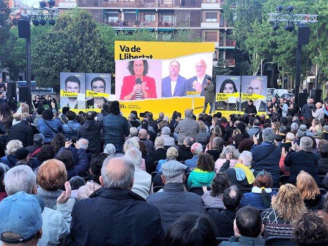 """28A.- Junqueras: El PSOE No És De Fiar I ERC És """"L'Únic Independentista Que Pot Guanyar"""""""