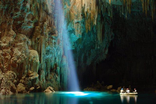 Bonito, un paraíso natural desconocido que promueve el ecoturismo en Brasil