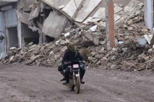 Siria.- Once muertos en ataques rebeldes en Alepo, Siria