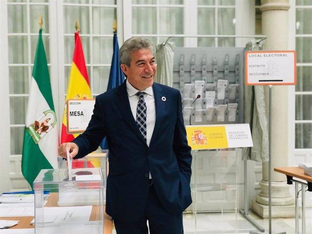 """28A.- Más de 19.000 agentes velarán en Andalucía para que la ciudadanía """"ejerza libremente su derecho"""" este domingo"""