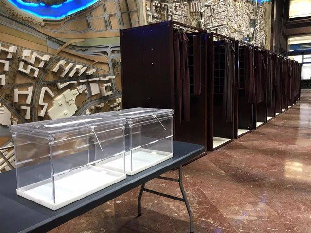 28A.- Zaragoza.- El Ayuntamiento Será La Sede Electoral Para 7.700 Votantes Del Distrito Casco Histórico