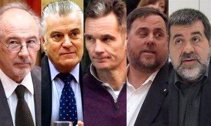 Villarejo se abstiene y Urdangarin, Rato, Bárcenas o los líderes independentistas votan desde prisión