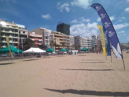 La Playa de Las Canteras, 'laboratorio' mundial contra los ahogamientos gracias al Gran Canaria 2019 SESC