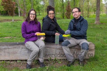 Identificar micromamíferos y censar peces en el río Sadar, talleres de la Universidad de Navarra en el 'Biomaratón 2019'