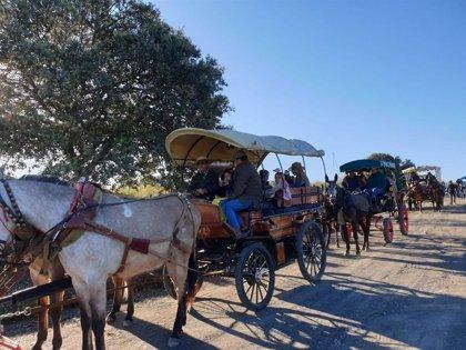 Transcurren con normalidad las primeras horas del Plan del Cerro 2019 para la Romería de la Virgen de la Cabeza