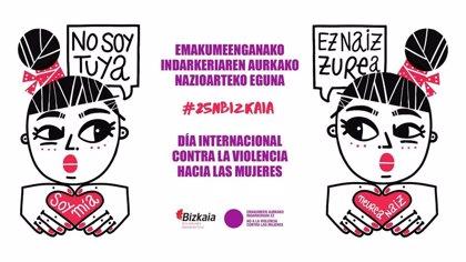 Crecen un 28,4% las víctimas de violencia de género atendidas por el Servicio foral de Acogida de Urgencia de Bizkaia