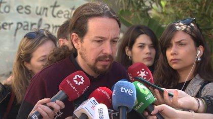 """Iglesias compara el 28A con 'Juego de Tronos': """"Veremos si triunfan los caminantes blancos o si ganamos los buenos"""""""