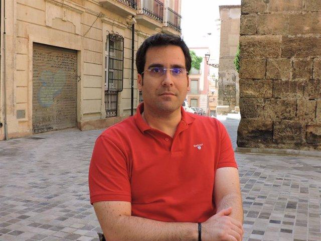 El concejal socialista Pedro Díaz