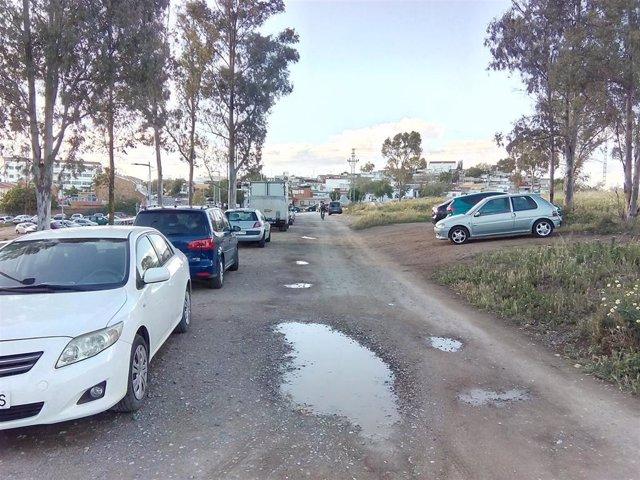"""La Asociación Cívica de Badajoz reclama un acceso """"digno y estético"""" al Fuerte de San Cristóbal"""