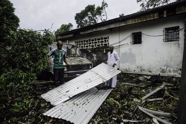 Cyclone Kenneth hit Comoros