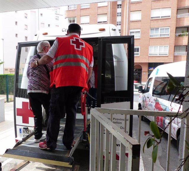 28A.- Cruz Roja trasladará a 40 personas con movilidad reducida a colegios electorales de Castellón