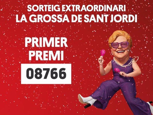 'La Grossa De Sant Jordi' Premia El Número 08.766
