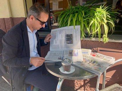 """Pere Joan Pons invita a la movilización """"para plasmar el cambio iniciado hace cuatro años"""" en Baleares"""
