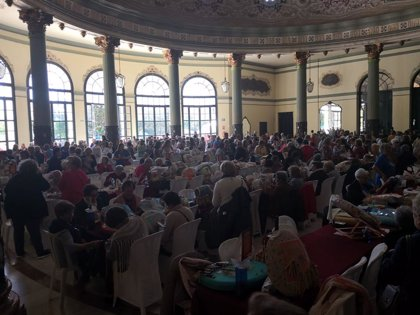 Casino de la Exposición de Sevilla acoge el XII Encuentro Nacional de Encajeras de Bolillos con más de 500 participantes