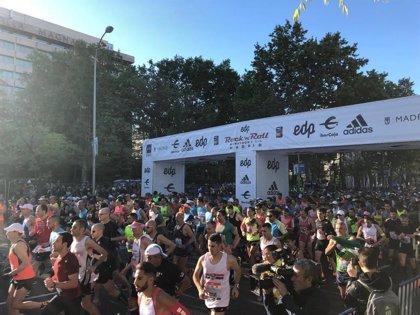 Atendidos 130 corredores en la Maratón, entre ellos uno grave al sufrir un infarto y 18 trasladados a hospitales