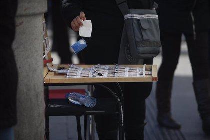 La Lotería deja 120.000 euros en Jerez (Cádiz), Porcuna (Jaén) y Los Palacios (Sevilla)