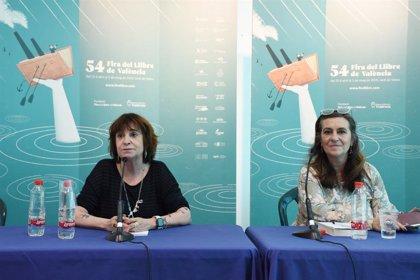 """Rosa Montero, en la Fira del Llibre: """"Vivimos unos tiempos del odio, pero hay esperanza para cambiar el mundo"""""""