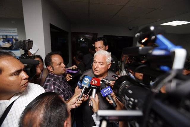 El presidente de Panamá, Ricardo Martinelli