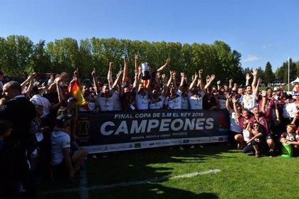 El Sanitas Alcobendas vence 'in extremis' al Barça y conquista su primera Copa del Rey de rugby