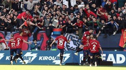 Osasuna fulmina al Albacete camino a Primera