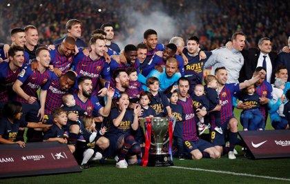 Messi sella otro título de La Liga para el Barcelona