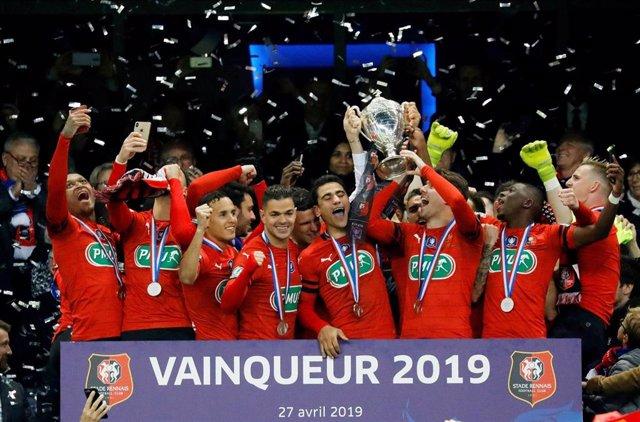Fútbol.- El Rennes le gana la Copa al PSG en los penaltis