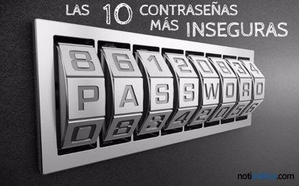 Estas son las 10 contraseñas más inseguras del mundo y quizá deberías cambiarla si usas alguna de ellas