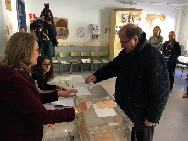 """28A.-Herrera Pide A Los Partidos """"Capacidad De Diálogo"""" Para Alcanzar Acuerdos Y Garantizar Las Bases De La Constitución"""