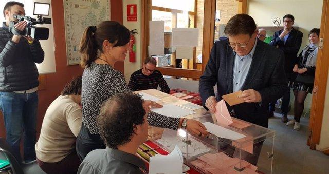"""28A.- Ximo Puig: """"La Participación En Democracia Siempre Es Importante, Pero Esta Vez Nos Jugamos Mucho"""""""