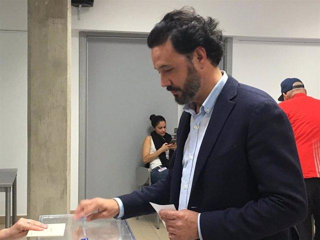 """28A.- Mariscal (PP) Cree Que """"Es Muy Importante"""" Ir A Votar Hoy Para Decidir Qué Modelo De Sociedad Se Quiere"""