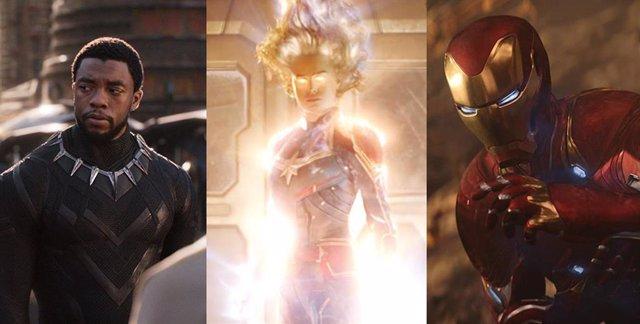PARA SÁBADO Vengadores Endgame: Todas las películas de Marvel, en orden de taquilla