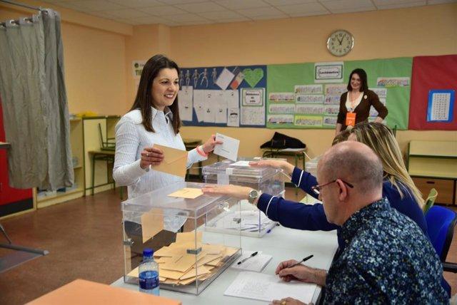 """28A.- Soraya Mayo (Cs) Apela Al Voto Masivo Para Evitar El """"Modelo De Extremos Que Nadie Quiere"""""""