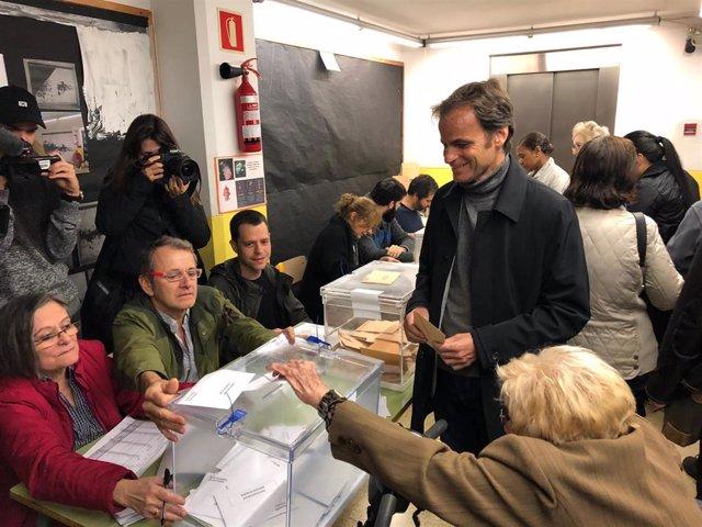 """28A.- Asens (ECP) Cree Que Se Confirmará """"La Remontada Que Indicaban Las Encuestas"""""""