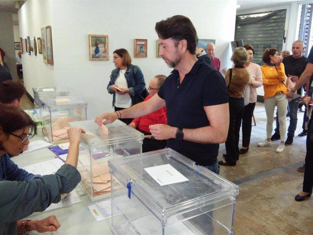 """28A.- Alonso (CC) Espera Que Sea Un Día De """"Gran Participación"""" Para Que Canarias """"Progrese"""""""