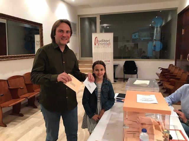 """28A.- Miralles: """"Que La Gente Vaya A Votar Sin Miedo Y Con Muchas Ganas"""""""