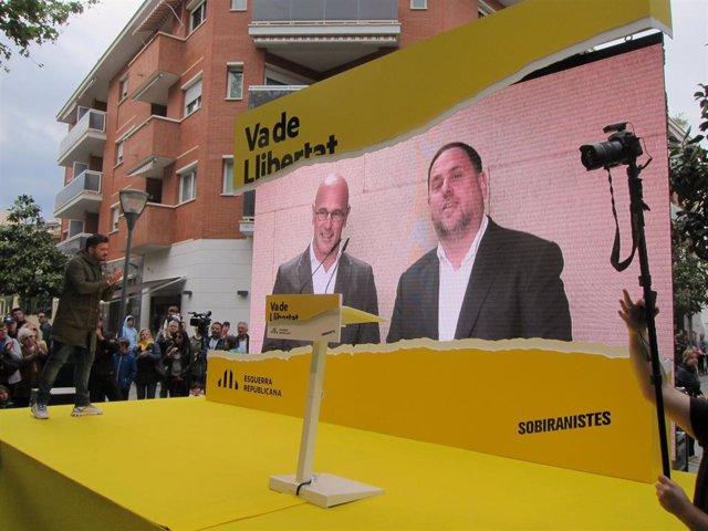 """España.- Junqueras pide una """"respuesta coordinada de país"""" si las sentencias del procés son condenatorias"""