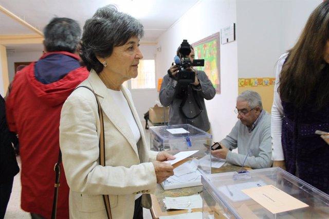 """28A.- Botejara Y Jaén (Unidas Podemos) Animan A Votar Porque El Resultado Es """"Fundamental Para Extremadura"""""""