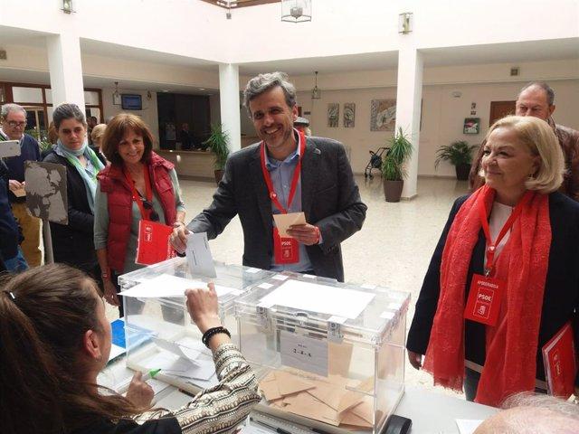 """Málaga.- 28A.- López (PSOE) espera que los malagueños ejerzan su derecho al voto porque es """"el día de la democracia"""""""