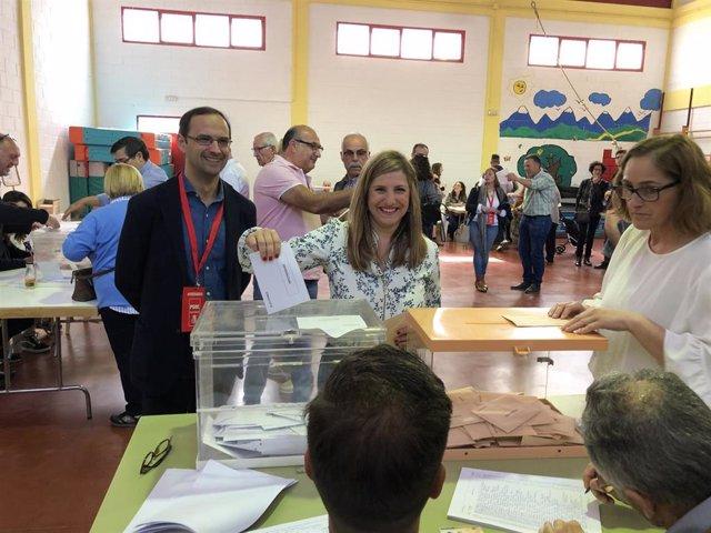 """Cádiz.- 28A.- García espera que en este """"día de esperanza"""" la gente joven vote """"pensando en el futuro que les espera"""""""