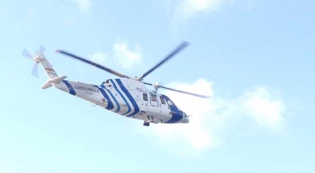 Pesca.- Rescatado por un helicóptero un pescador que se cayó en una zona de rocas en Fisterra (A Coruña)