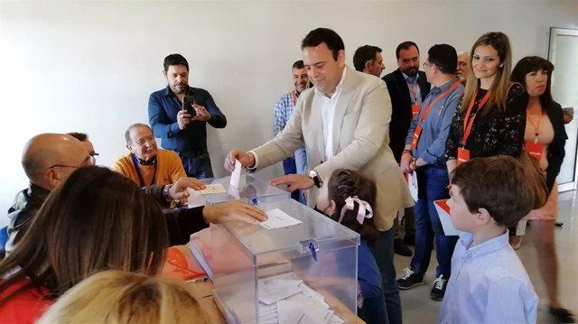 """Huelva.- 28A.- Hermoso (Cs) llama al voto porque """"es importante que la voz de Huelva se escuche con claridad"""""""