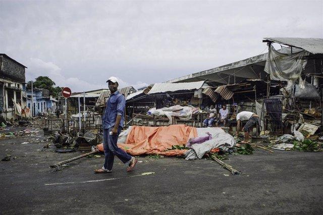 Cyclone Kenneth hit Comoros