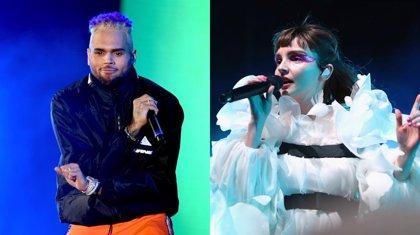 """Chris Brown arremete contra CHVRCHES: """"Sois unos perdedores"""""""