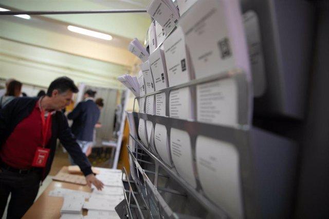 Participación elecciones 28-A en los colegios electorales de Sevilla