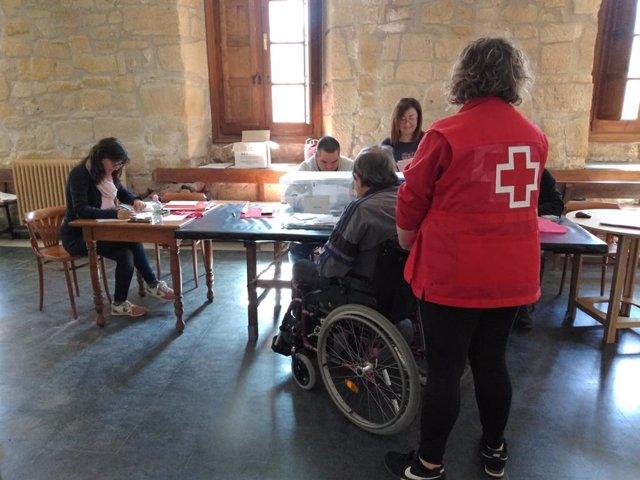 28A.- Un Total De 75 Ciudadanos Han Ejercido Su Derecho Al Voto Gracias Al Servicio De Transporte Adaptado Cruz Roja