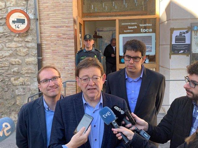 28A-A.- El Botànic Se Reeditaría En La Comunitat Con El PSPV Como Fuerza Más Votada, Según El Sondeo De Valencia Plaza