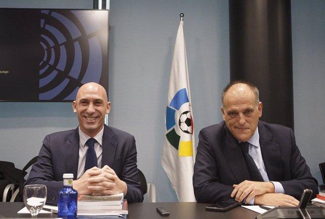 "Rubiales: ""Tebas está nervioso porque unos buenos amigos suyos han sobornado a miembros de FIFA"""