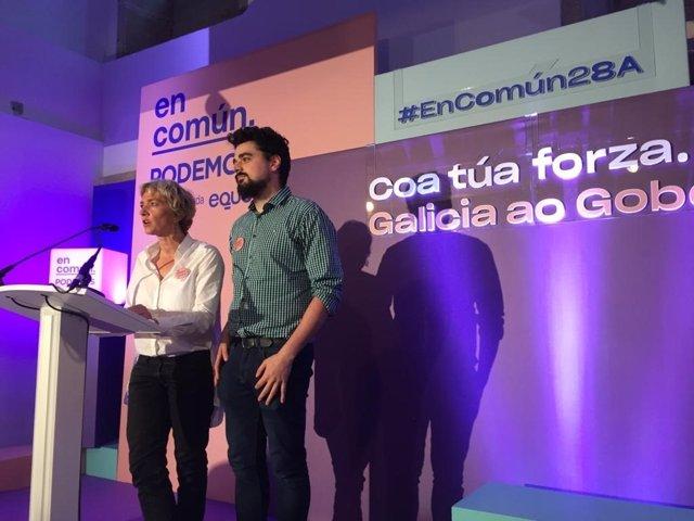 """28A.- En Común Unidas Podemos Ve En Las Encuestas A Pie De Urna La Posibilidad De Lograr """"Un Gobierno Del Cambio"""""""
