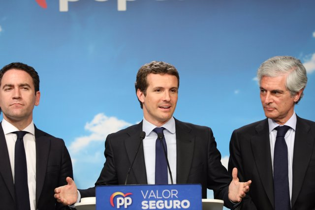 Mitin de cierre de campaña del Partido Popular en Wizink Center, Madrid.