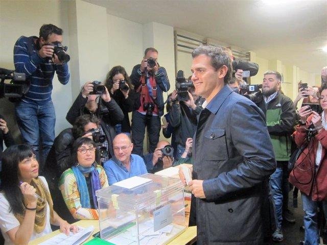 28A.- Rivera (Cs) llama a la participación para abrir una nueva etapa política